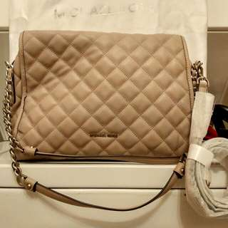 MK Large/medium Sized Hand Bag W/shoulder Strap