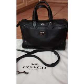 authentic coach rhyder satchel