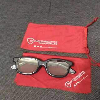 SHAW THEATRES CINEMA REALD 3D GLASSES
