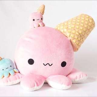 BRAND NEW TENTACO! Momo Giant Pink Kawaii Octopus Plush Toy Stuffed Animal