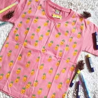 Pineapple Tshirt Handmade