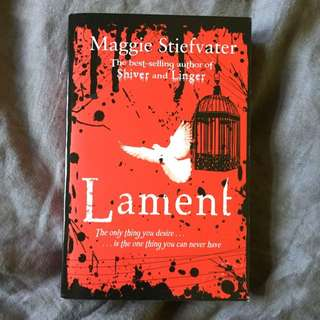 'Lament' By Maggie Stiefvater Book