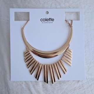 colette gold necklace