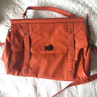 Orange Sportsgirl Satchel Bag