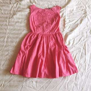 Just G Fit and Flare Dress