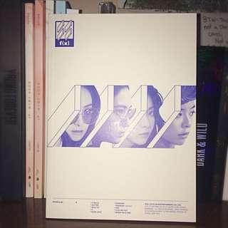 F(X) 4th Mini Album•4 Walls