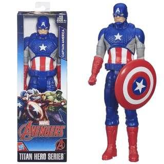 Captain America Marvel Titan Series