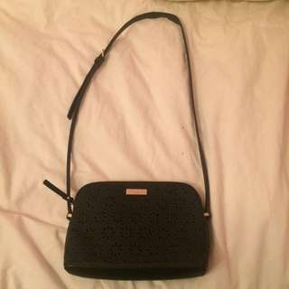 Kate Spade Cedar Street Perforated Floral Crossbody