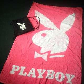 Playboy Bag+Towel