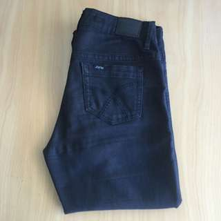 Lee Riders Bumster Super Skinny Black