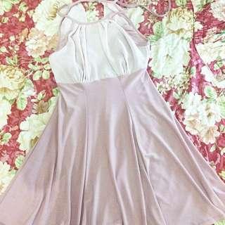 Halter Korean Dress