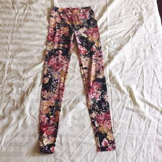 PROMOD Floral Leggings