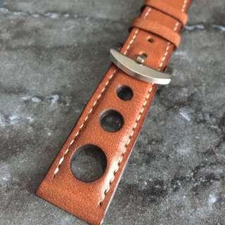Vintage Watch Leather Strap