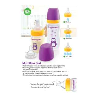 Authentic Tupperware - Tupperware Brand Milk Bottle Teats