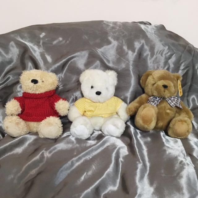 10款泰迪熊/娃娃/存錢筒