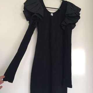 Finders Keepers The Label Black Dress size 8