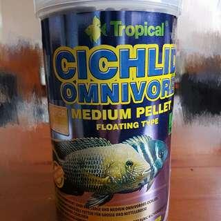 Tropical 免疫雜食性慈鯛揚色顆粒 1000顆