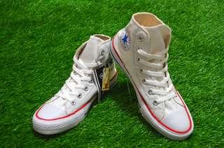 sepatu converse putih sepatu converse high sepatu converse white high