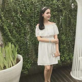 Sabrina White Dress