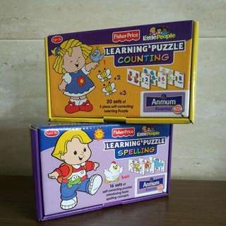Fisher Price Learning Puzzle from Anmum