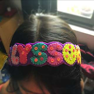 Name Headband