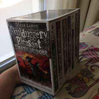 Collection of Skulduggery Pleasant