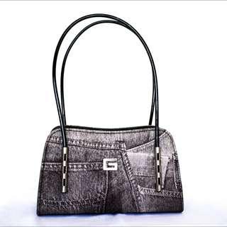 VINTAGE Denim Guess Bag