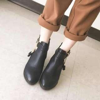 側流蘇鏈靴