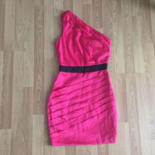 Lipsy London Party Pink Dress XS