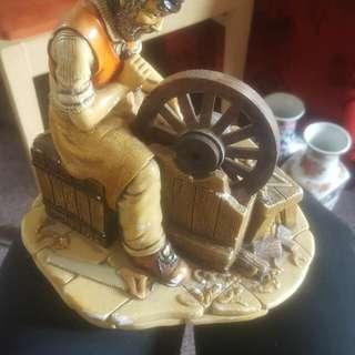 Wheelwright Statue