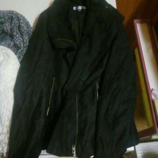 Tempt Size 10 Suede Coat