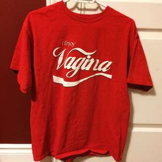 I Enjoy Vagina Coca Cola Shirt
