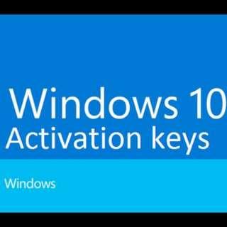 [Genuine] Windows 10 Home/Pro activation key