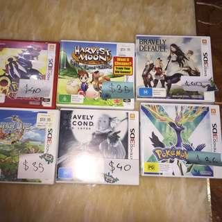 6 3DS Games