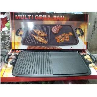 Multi Grill Pan Alat Panggangan Tanpa Perlu Arang Anti Lengket