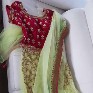 Indian Attire - Mermaid/ Flared Lehenga