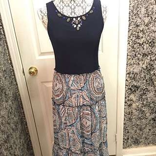 Long Maxi Dress Small/Medium