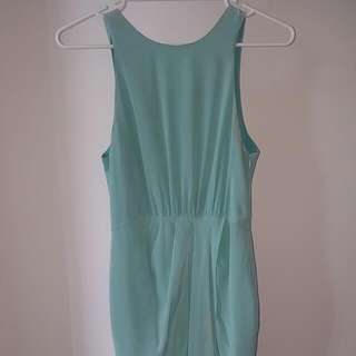 RODEO SHOW aqua dress - Size 8