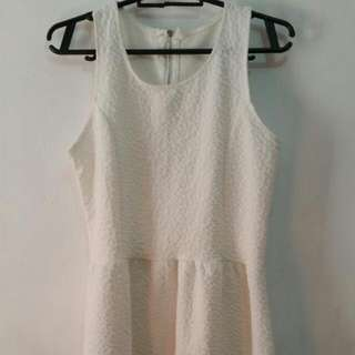 Ivory Casual Dress