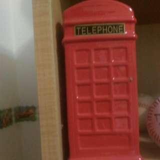 電話亭存錢桶