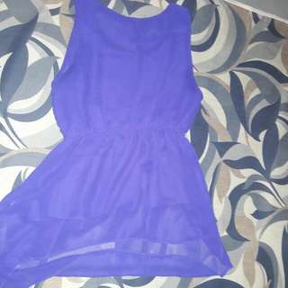 Purple Long Blouse