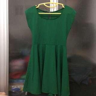 Green Christmas Dress