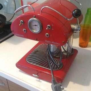 Kenwood Cafe Retro義大利製半自動義式咖啡機(220~240V)