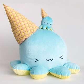 BRAND NEW TENTACO! Melty Giant Pink Kawaii Octopus Plush Toy Stuffed Animal