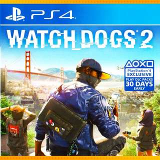 Watch Dogs 2  PS4 (ENG) Digital Download