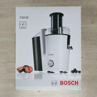 Bosch Juicer