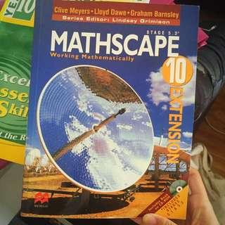 MATHSCAPE TEXTBOOK