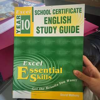 ENGLISH STUDY GUIDE