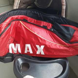 used badminton bag