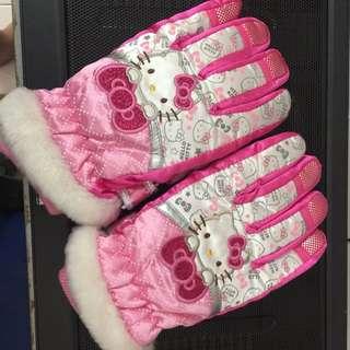 girl's snow glove